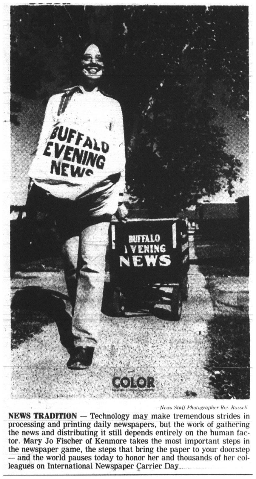 oct  13  1979  the big blue buffalo evening news wagon