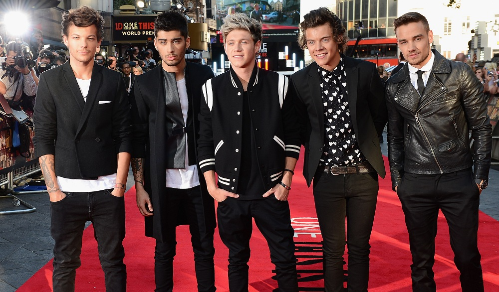 One Direction will play Buffalo in September 2015. (Getty Images)