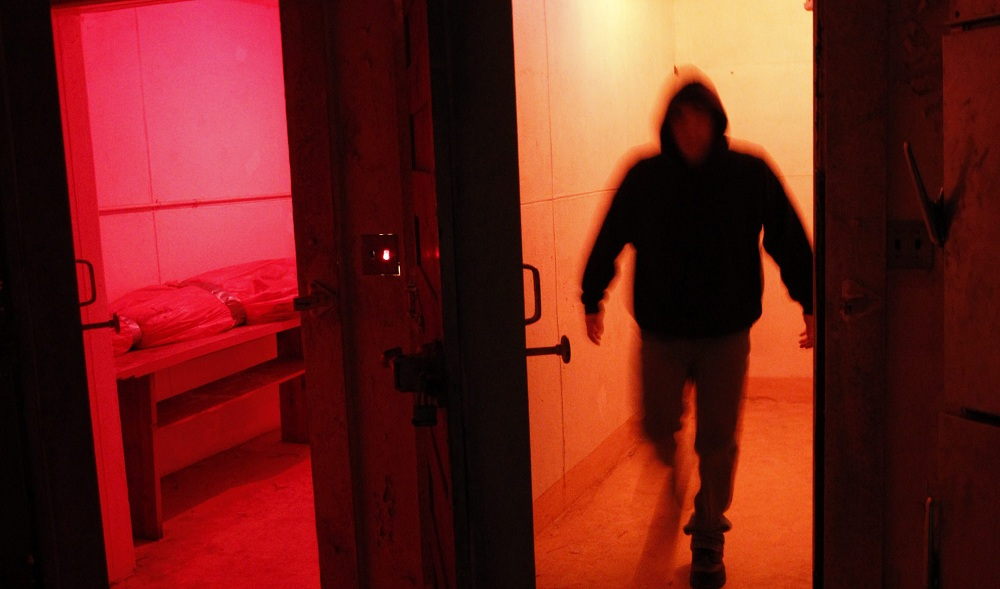 Rolling Hills Asylum is bustling this time of year due to its reputation as a paranormal hotspot. (Photo illustration by Sharon Cantillon / Buffalo News)