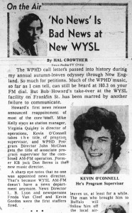 22 oct 1974 Kevin Oconnell Jeff Kaye