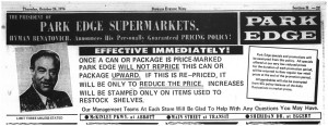 24 oct 1974 park edge price guarantee