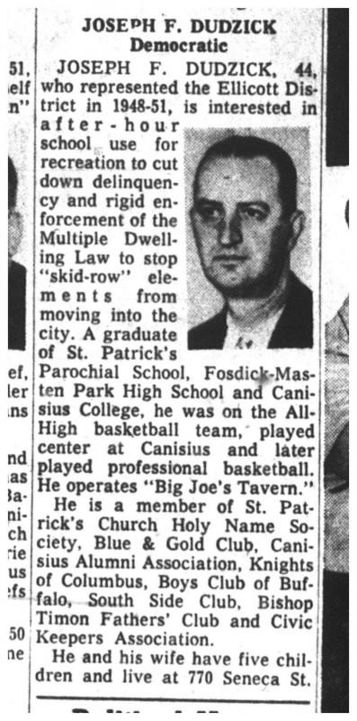 27 oct 1959 joe dudzick