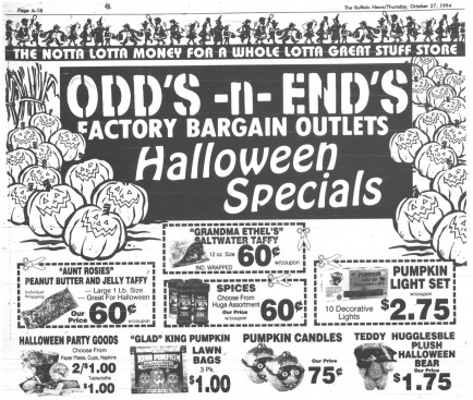 29 oct 1994 odds and ends