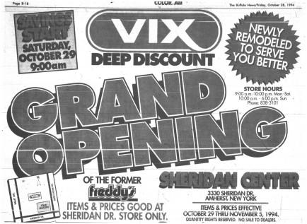 29 oct 1994 vix ad 1