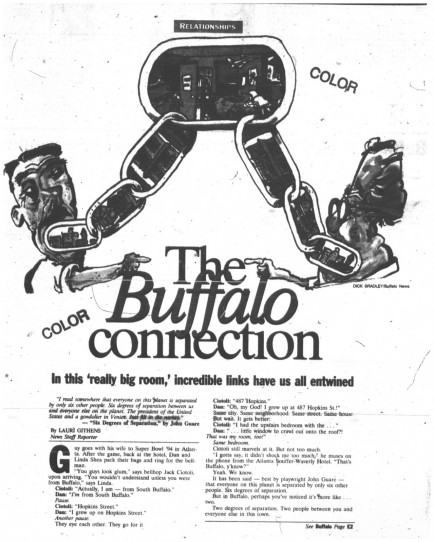 30 oct 1994 buffalo connections 1