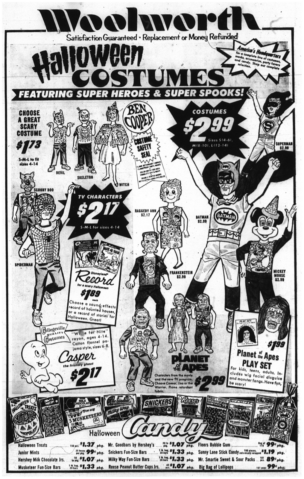 31 23 oct 1974 Woolworth halloween ad