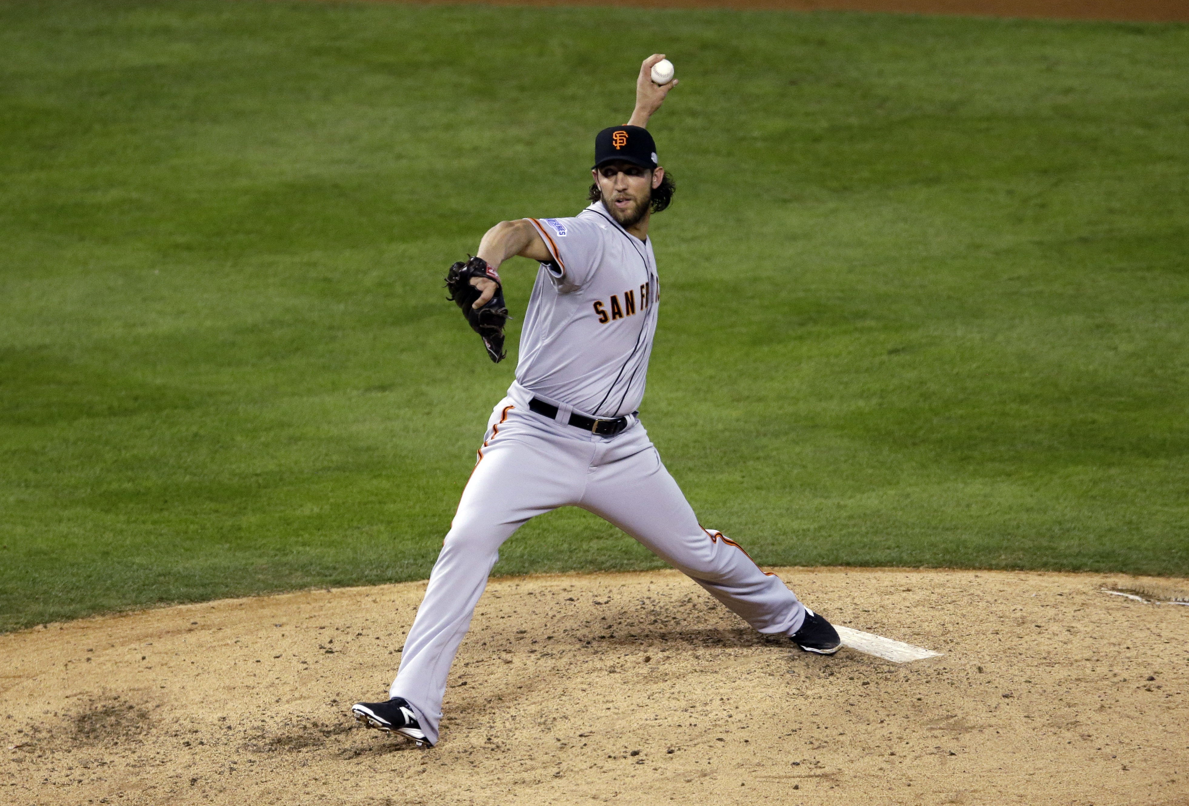 Giants pitcher Madison Bumgarner's five-inning relief appearance to win Game Seven was one of the greatest performances in baseball history.