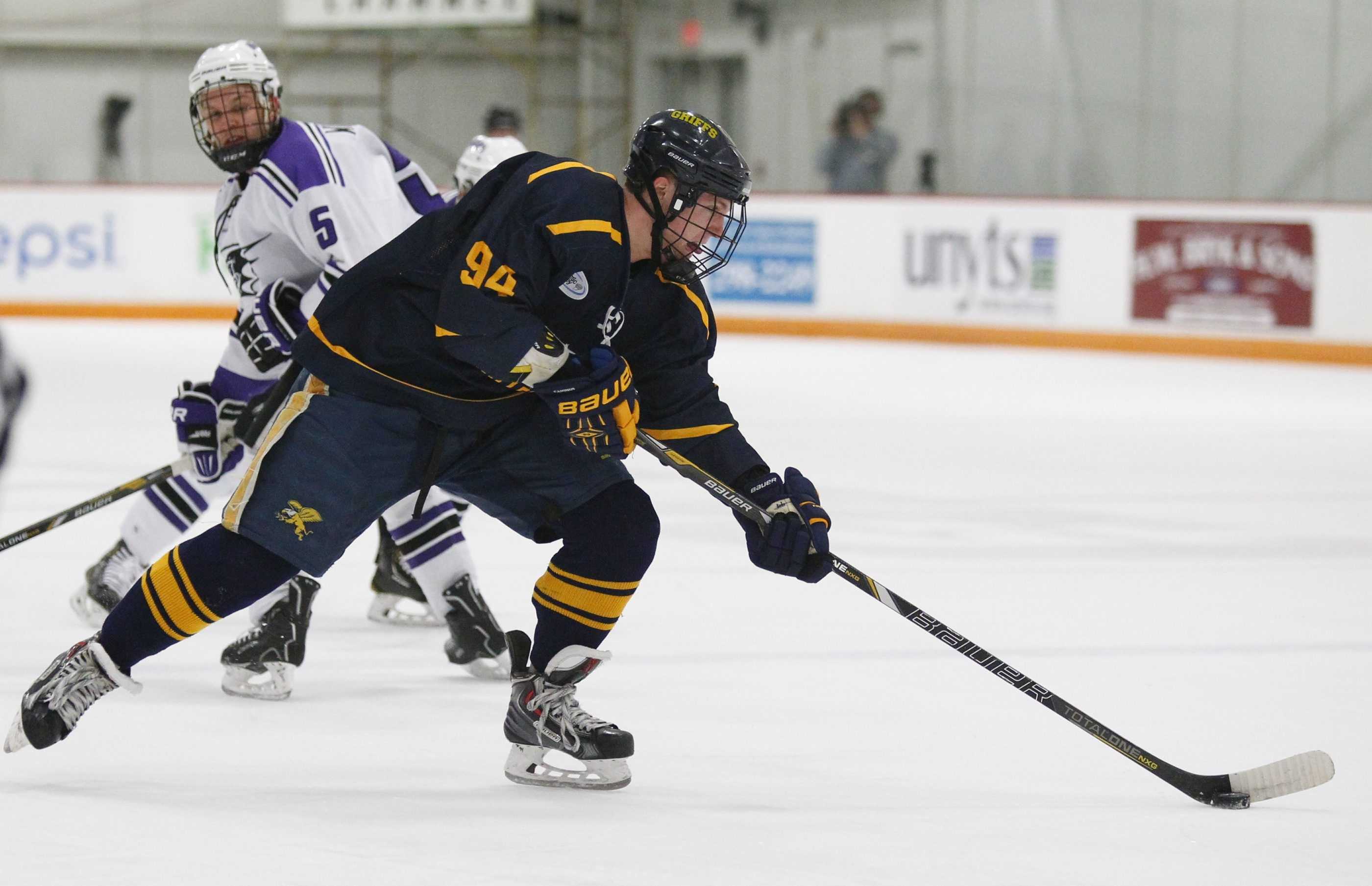 Matthew Grazen is a senior on the Canisius hockey team.