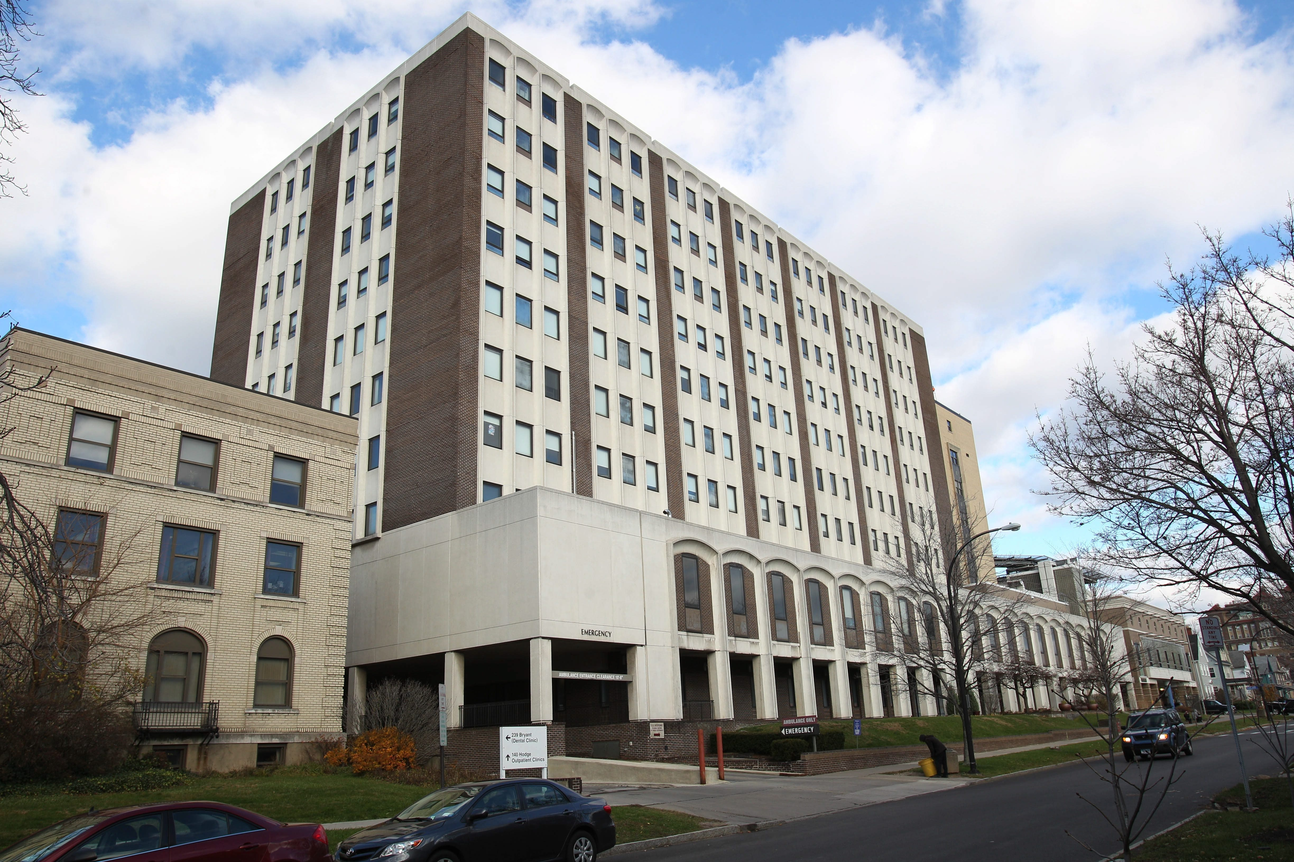 Should any Ebola cases happen to be diagnosed in Western New York, the patients would go to Women and Children's Hospital, above, or Erie County Medical Center. (Sharon Cantillon/Buffalo News file photo)
