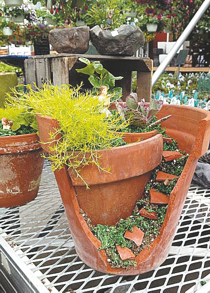 A fairy garden can bring a touch of summer indoors. (Buffalo News file photo)