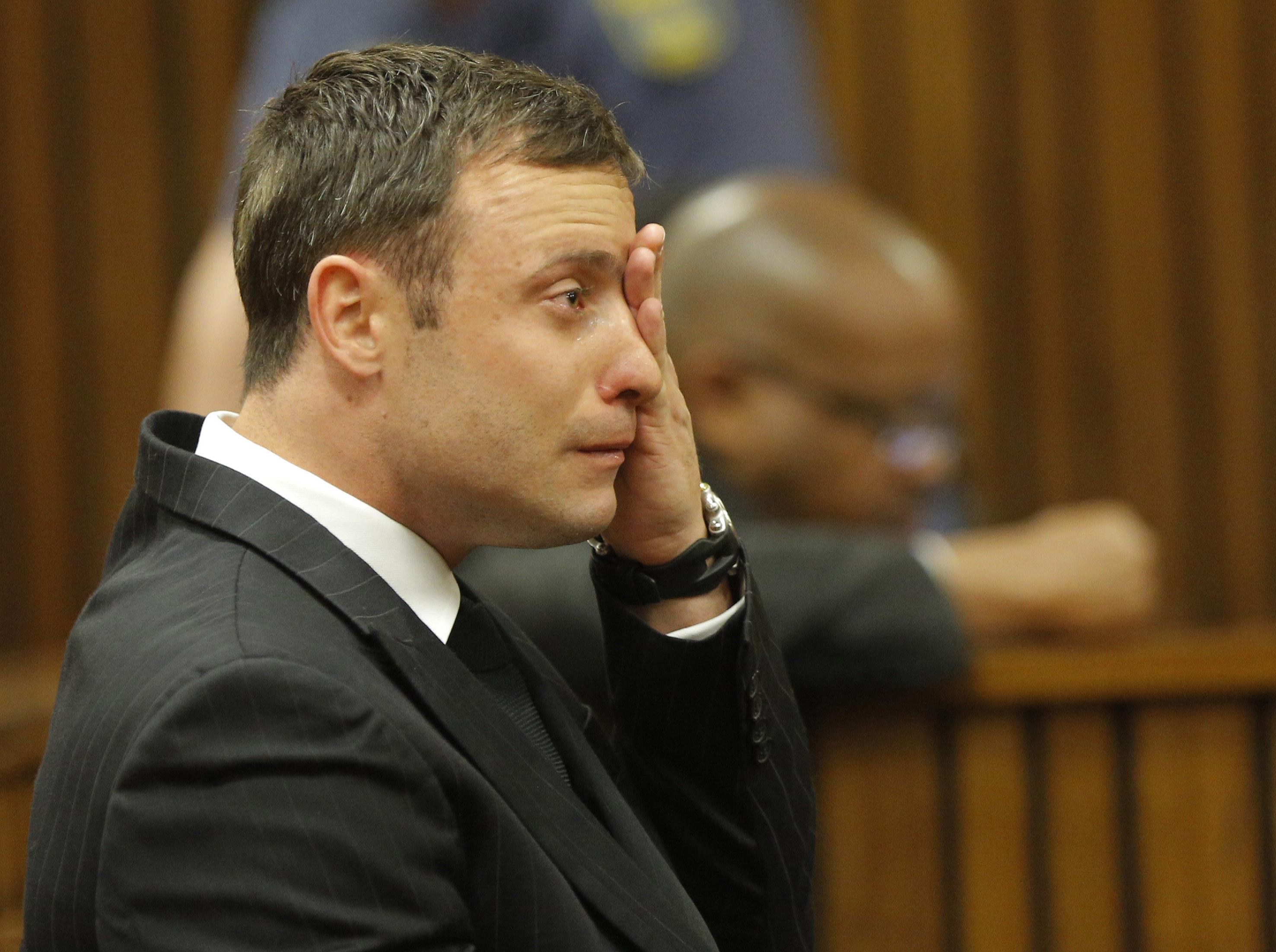 Oscar Pistorius got five years in prison for killing his girlfriend on Valentine's Day 2013.