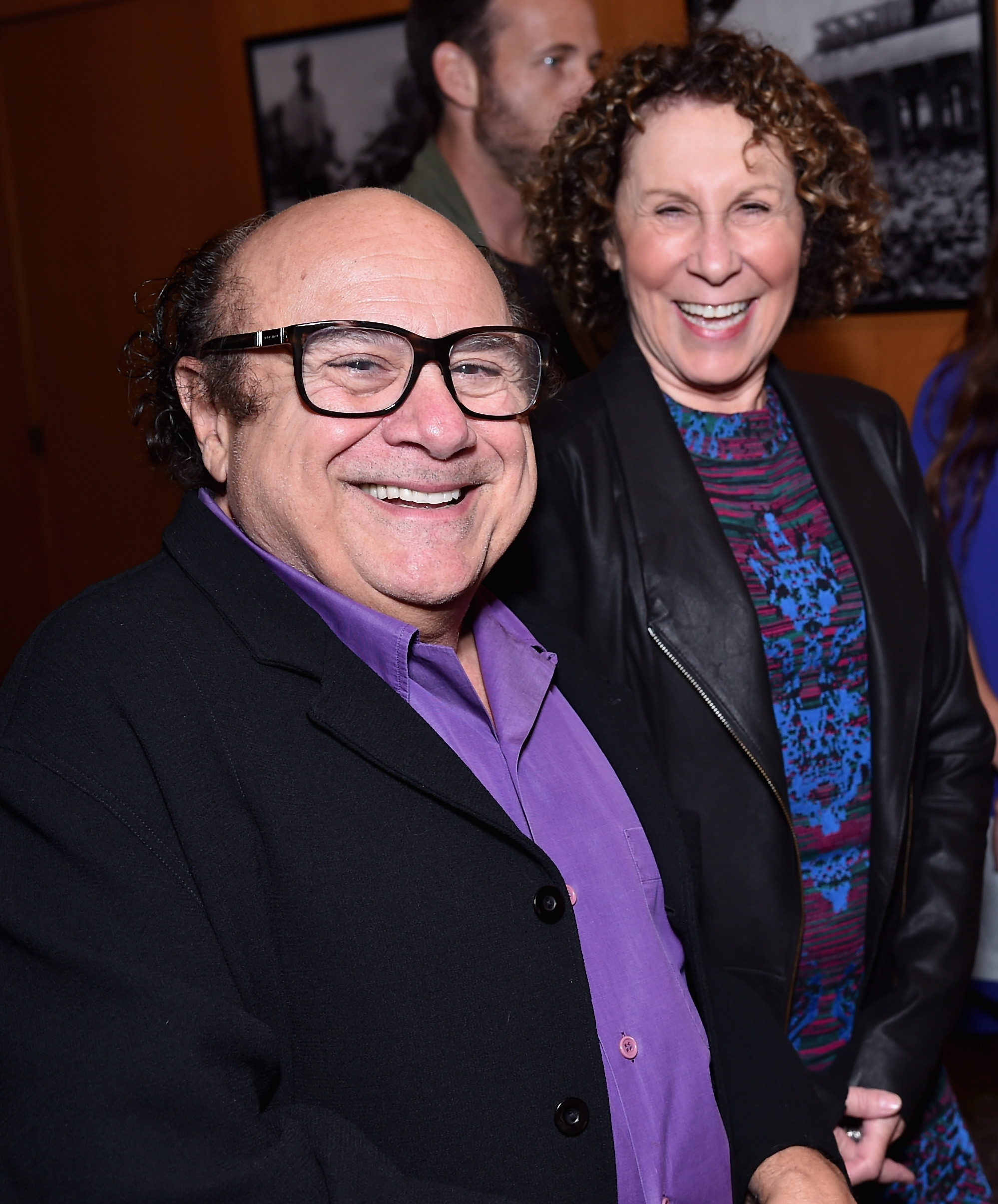 """Date night: Actors Danny DeVito and Rhea Perlman attend the premiere of Amplify's """"The Better Angels"""" Monday at DGA Theater in Los Angeles."""
