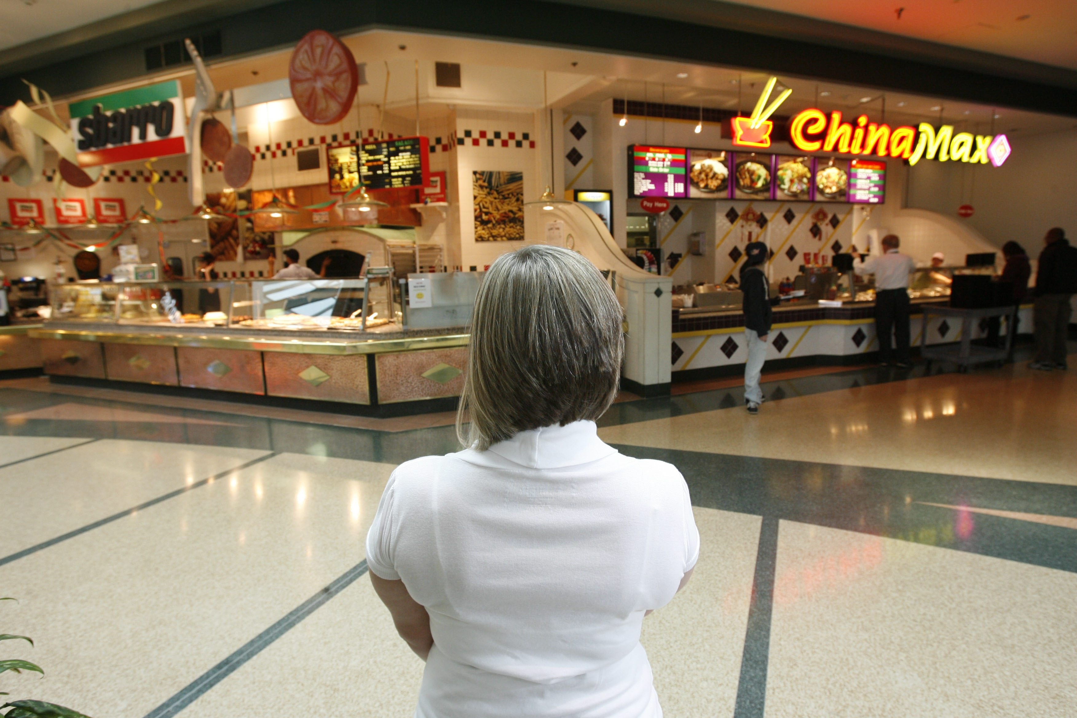 A Dick's Sporting Goods store could replace the  food court at the Boulevard Mall, seen here in a photo illustration composed in 2009.