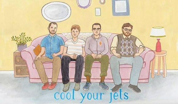 The album cover for Bryan Johnson and Family's new disc, 'Cool Your Jets.'