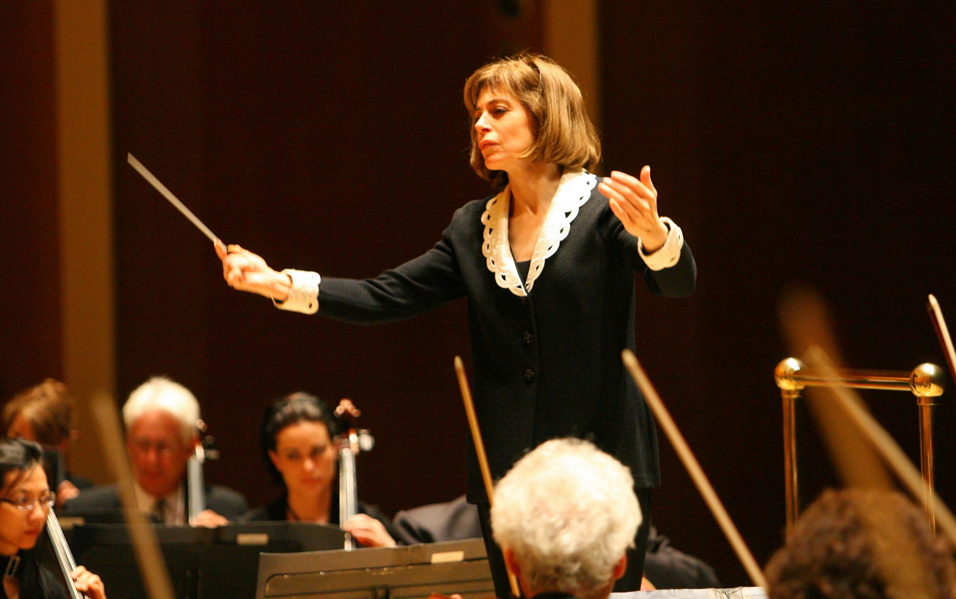 JoAnn Falletta, music director of the Buffalo Philhar- monic Orchestra, could be up for a Grammy Award.