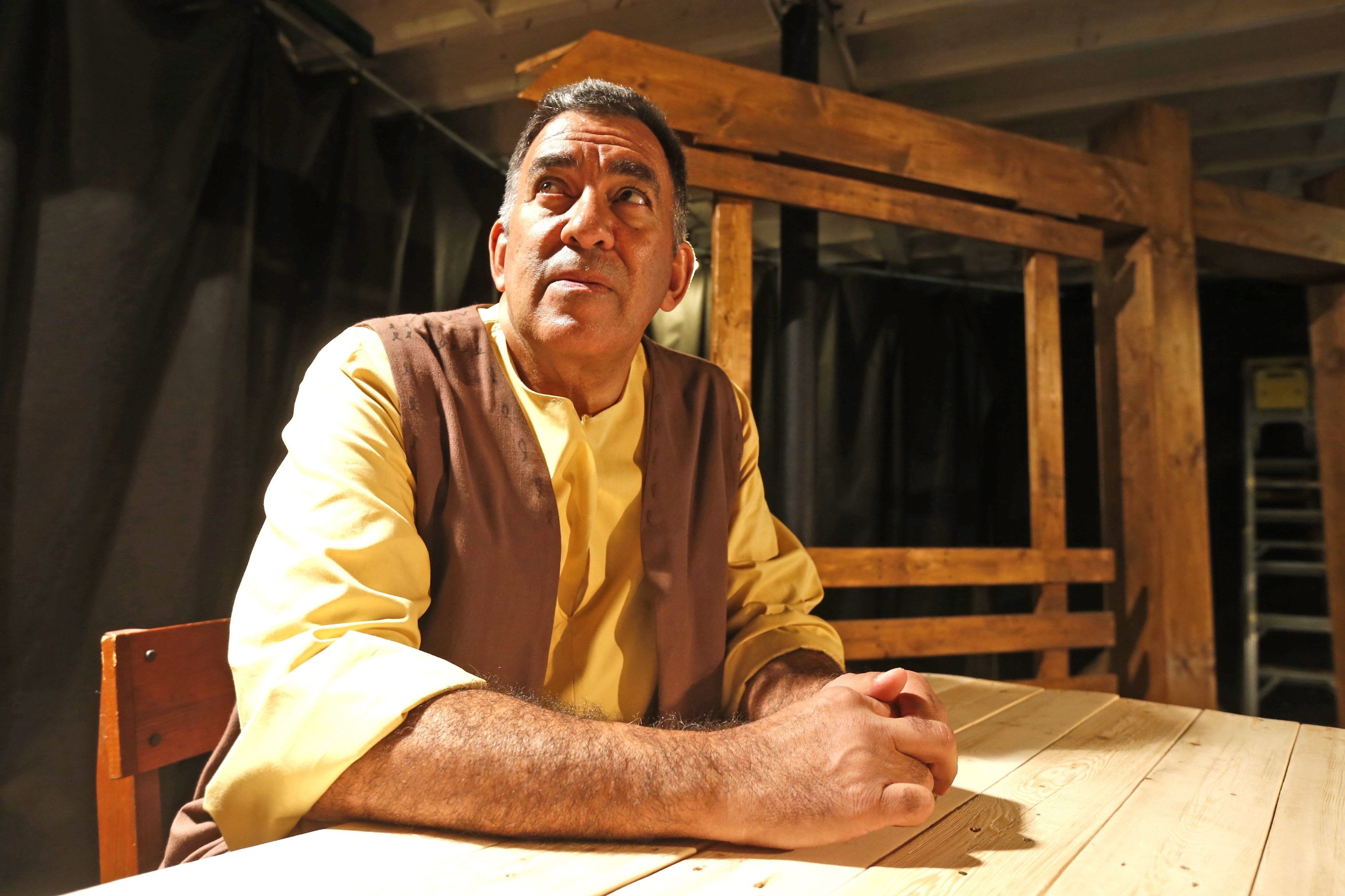 """Victor Morales, currently rehearsing for American Repertory Theater's production of """"The Crucible,"""" wants to see more public support for smaller companies. """"There's a lot of theater companies in Buffalo and few people coming to see the shows,"""" he says."""