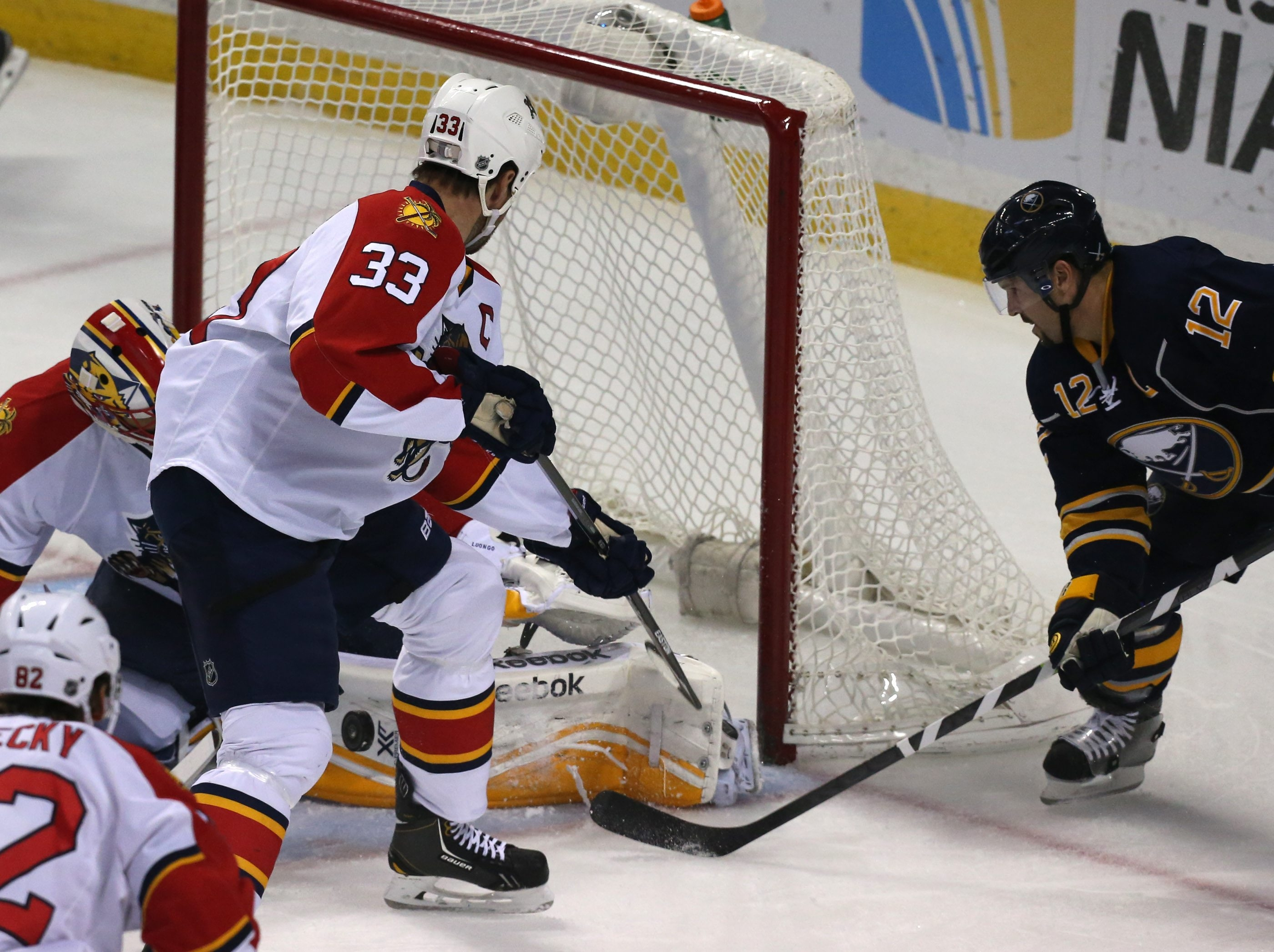 Sabres captain Brian Gionta said the team is getting scoring chances but must find ways to get more goals and more wins.