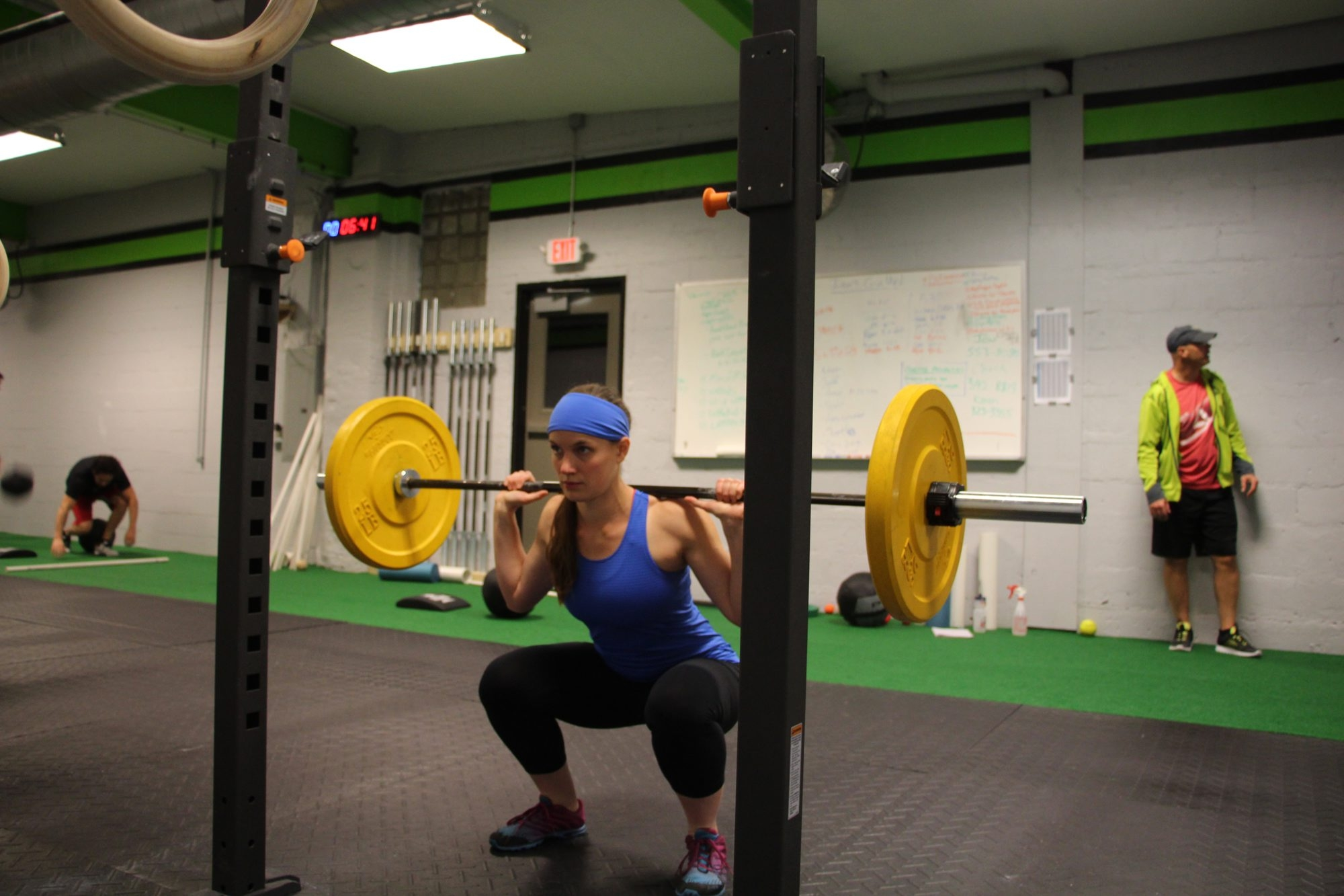 Karen Makar, shown at CrossFit Nickel City, takes care of her family's nutrition.