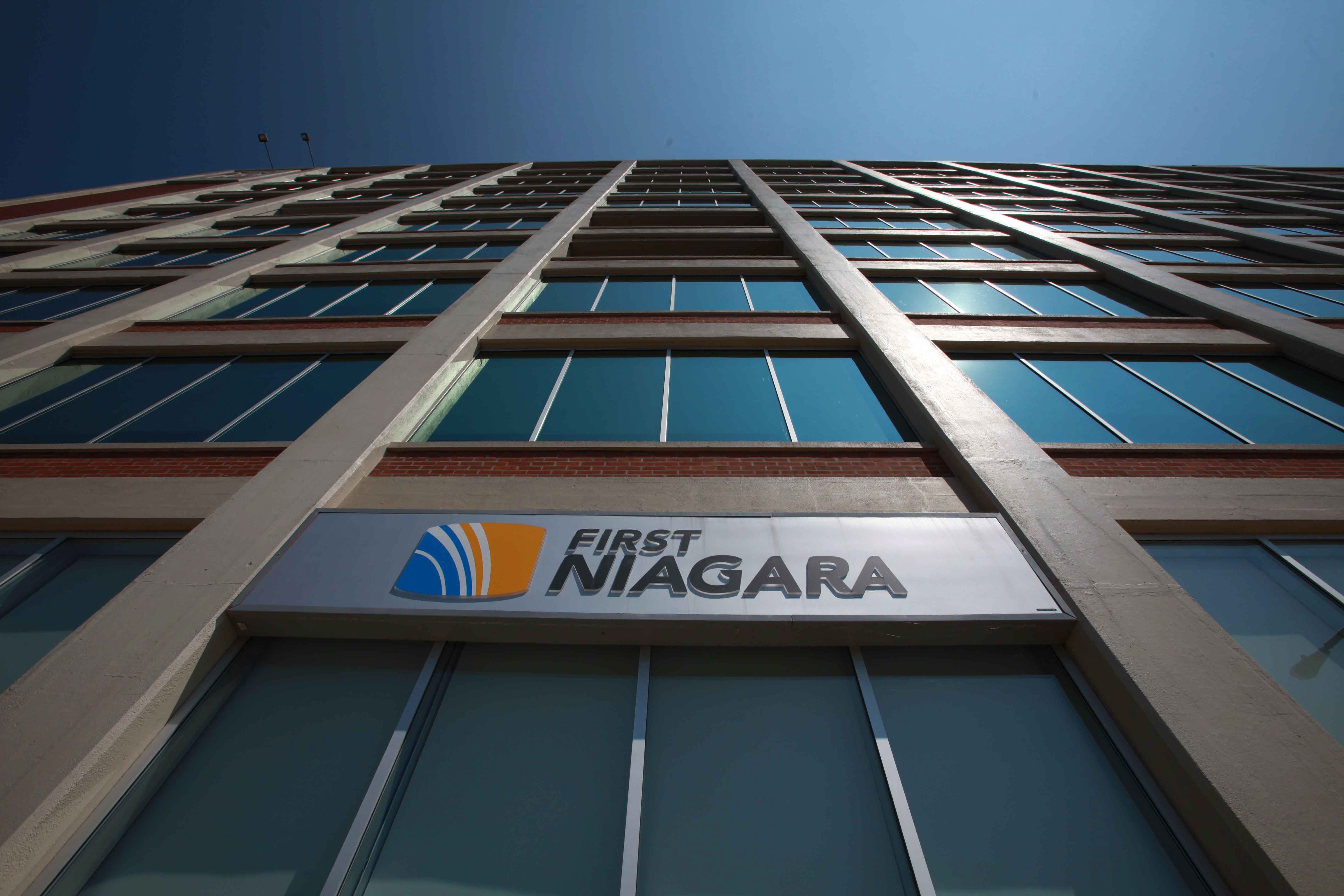 "Buffalo-based banking company First Niagara did not give specifics on the cause of an $800 million ""non-cash goodwill impairment charge,"" except to say the decision was made ""based on current market-driven assumptions"" and isn't related to credit quality."