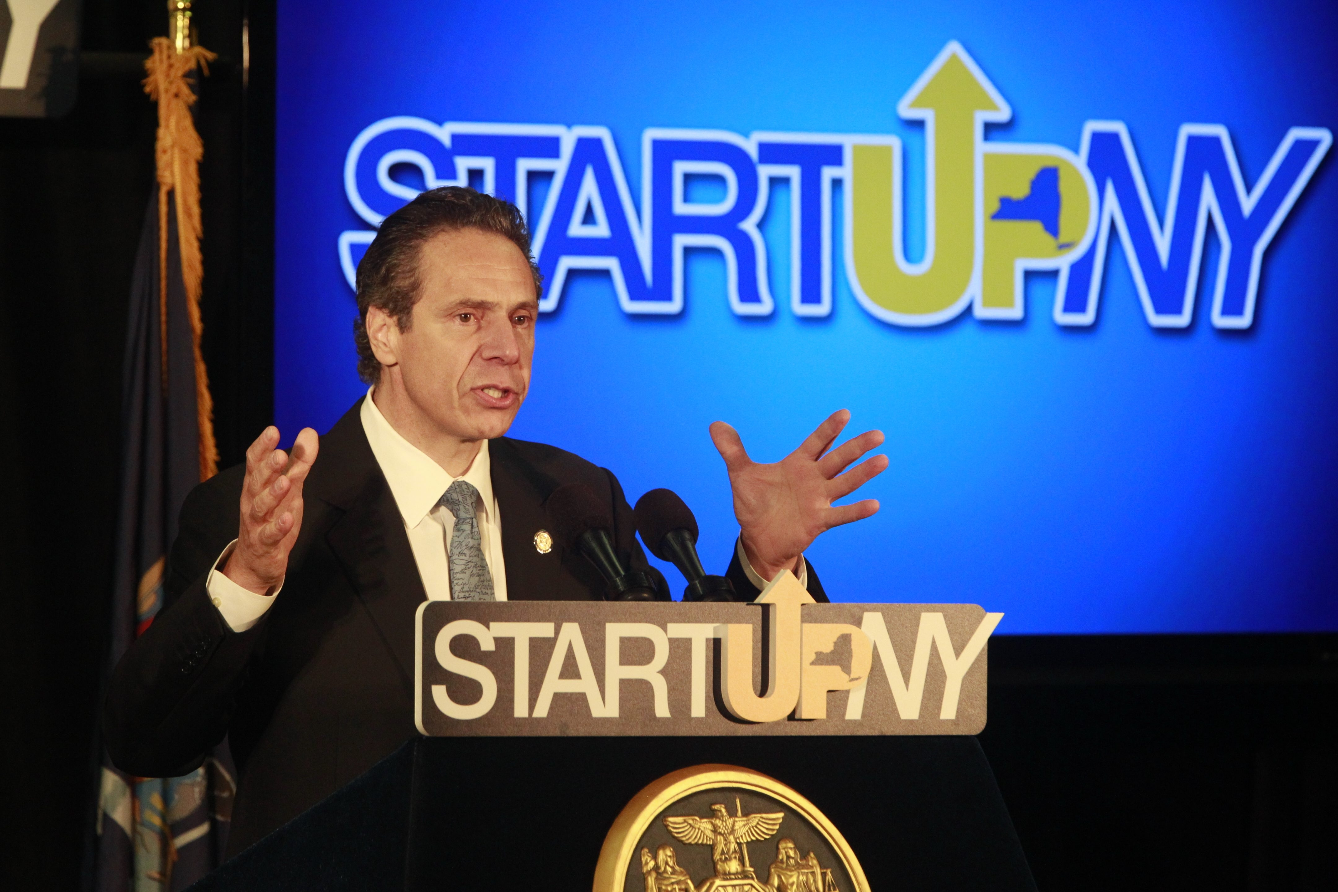 Gov. Andrew M. Cuomo launched Start-Up NY, one of many programs that will benefit the economy of Western New York.