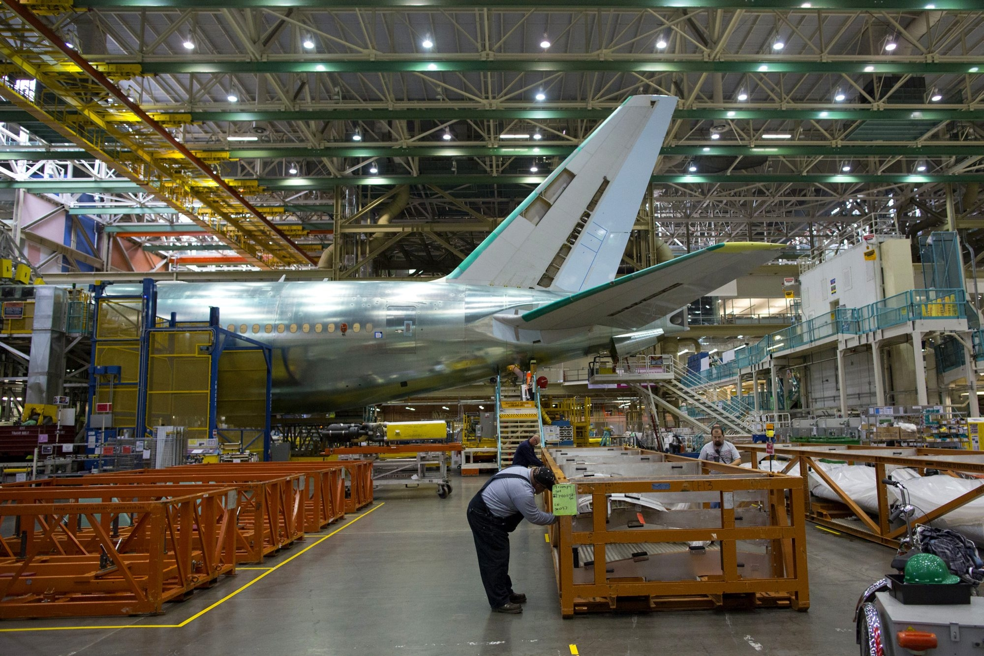 Boeing Co. stock dropped 4.5 percent as investors worried about the cost of building its 787 Dreamliner.  The company was expected to report betters results for the rest of its commercial unit, including the 777s built at Everett, Wash.