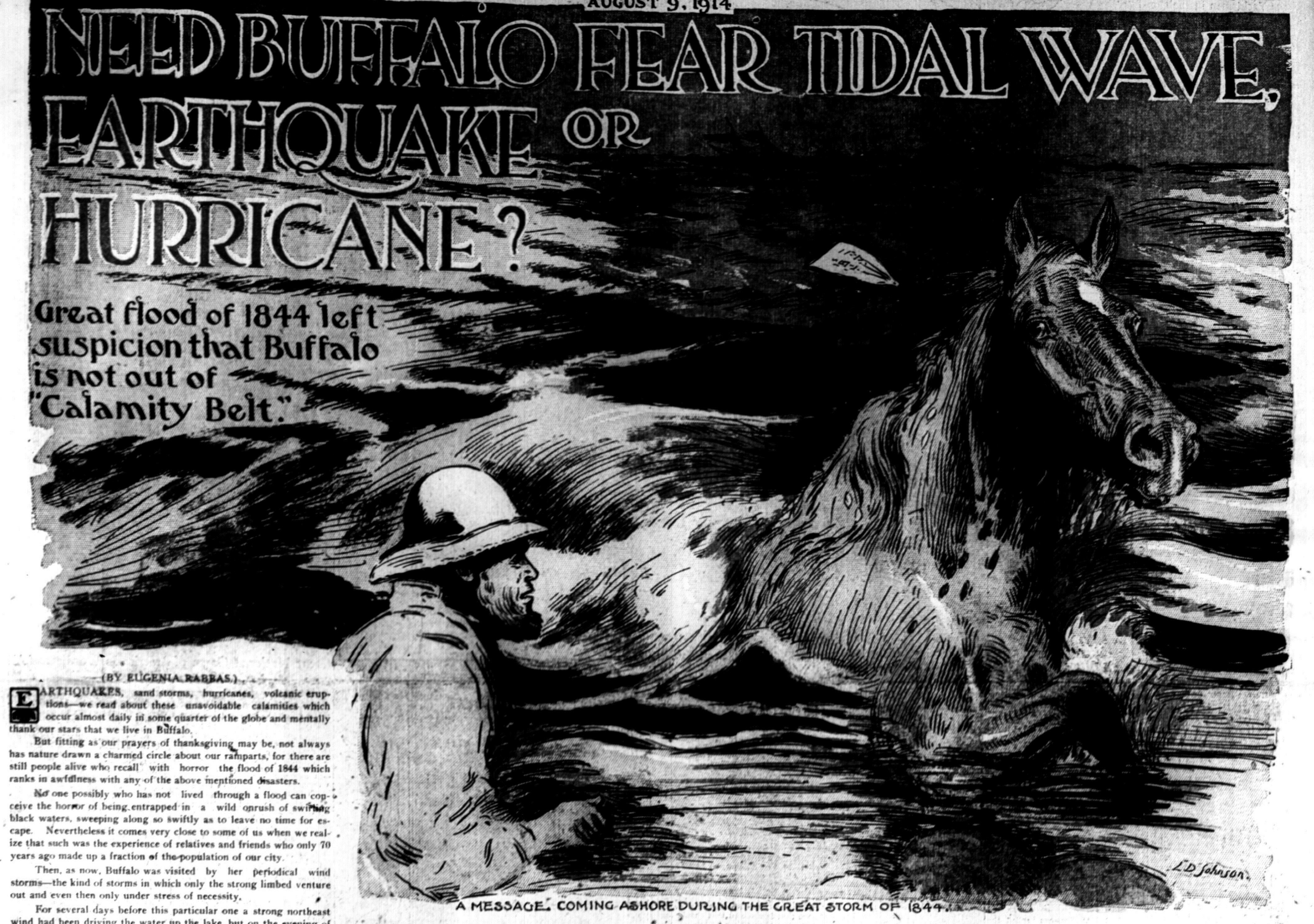 Oct. 18, 1844: 'Great flood of 1844' devastates Buffalo – The Buffalo News