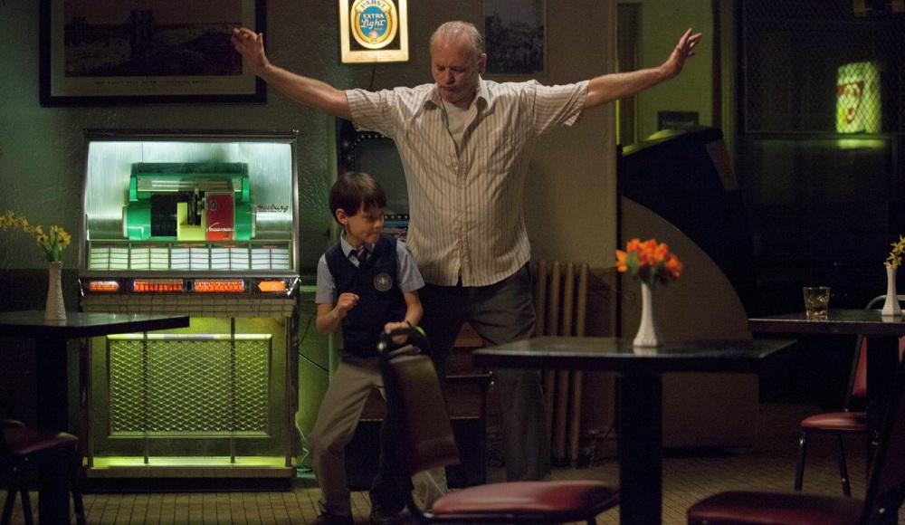 Jaeden Lieberher and Bill Murray star in 'St. Vincent.'