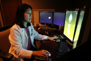 Dr. Anna Chen, director of women's imaging at Windsong Radiology Group, says those suspected of having breast cancer must go through several steps to confirm the diagnosis. In about two-thirds of cases, she says, discovered tumors turn out to be non-cancerous. (Sharon Cantillon/Buffalo News)