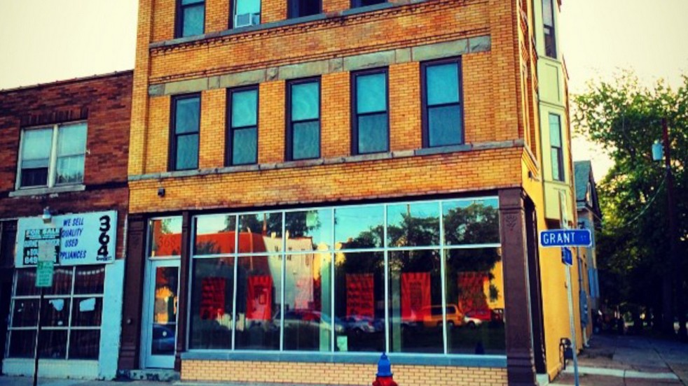 The building on Grant Street in which Public Espresso will soon brew and serve world-class coffee.