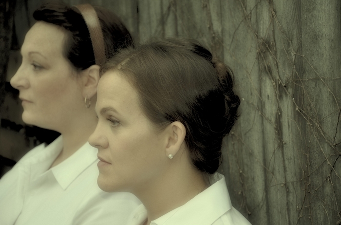 Andrea Natale Profeta and Jenn Stafford star in Buffalo Public Theatre's production of 'The Children's Hour.'
