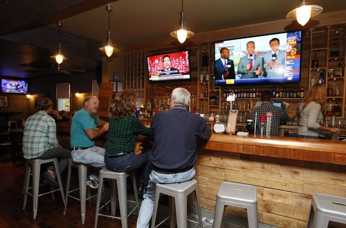 Craft Tap house is a casual, comfy craft beer spot on Main Street in East Aurora. (Sharon Cantillon/Buffalo News)