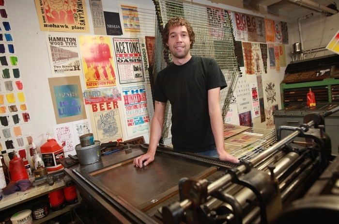 From master printer to journeyman: WNY Book Arts Center's Chris Fritton hits the road