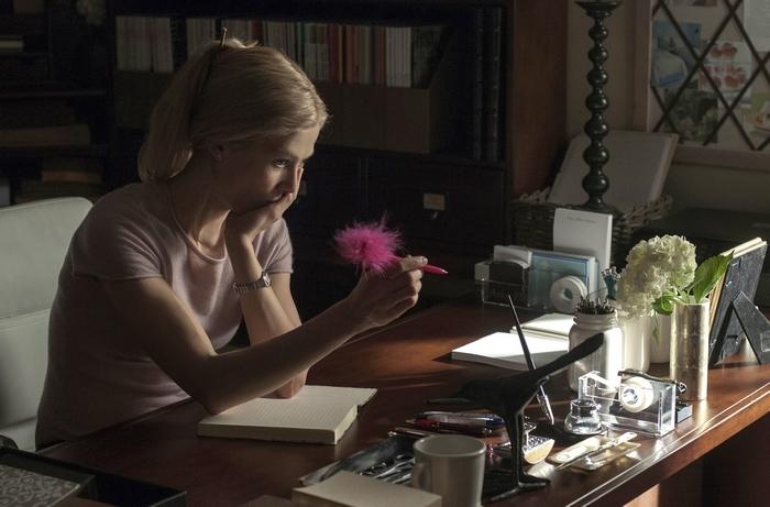 """Rosamund Pike stars as antiheroine Amy in """"Gone Girl."""""""
