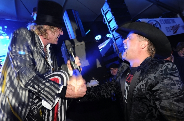 Big and Rich will perform Saturday in the Seneca Niagara Events Center. (Getty Images)