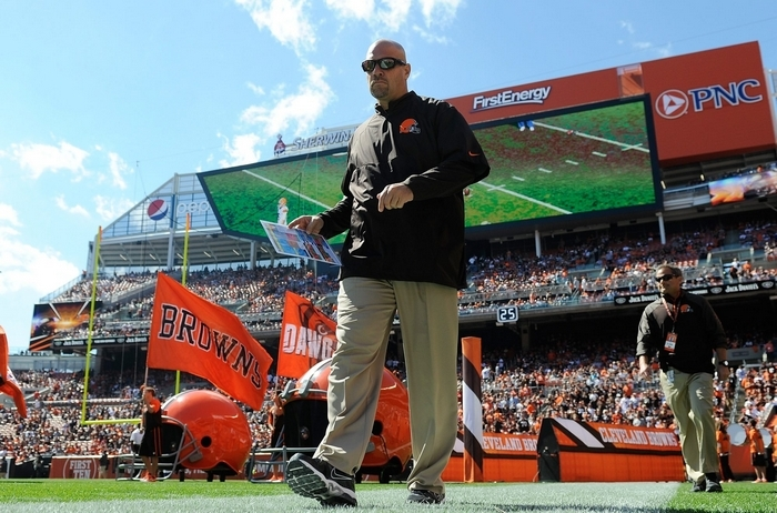 Browns head coach Mike Pettine was not the first choice when Cleveland wanted to make a coaching change after last season, but now that he's taken the Browns into playoff contention, he's found himself a home.