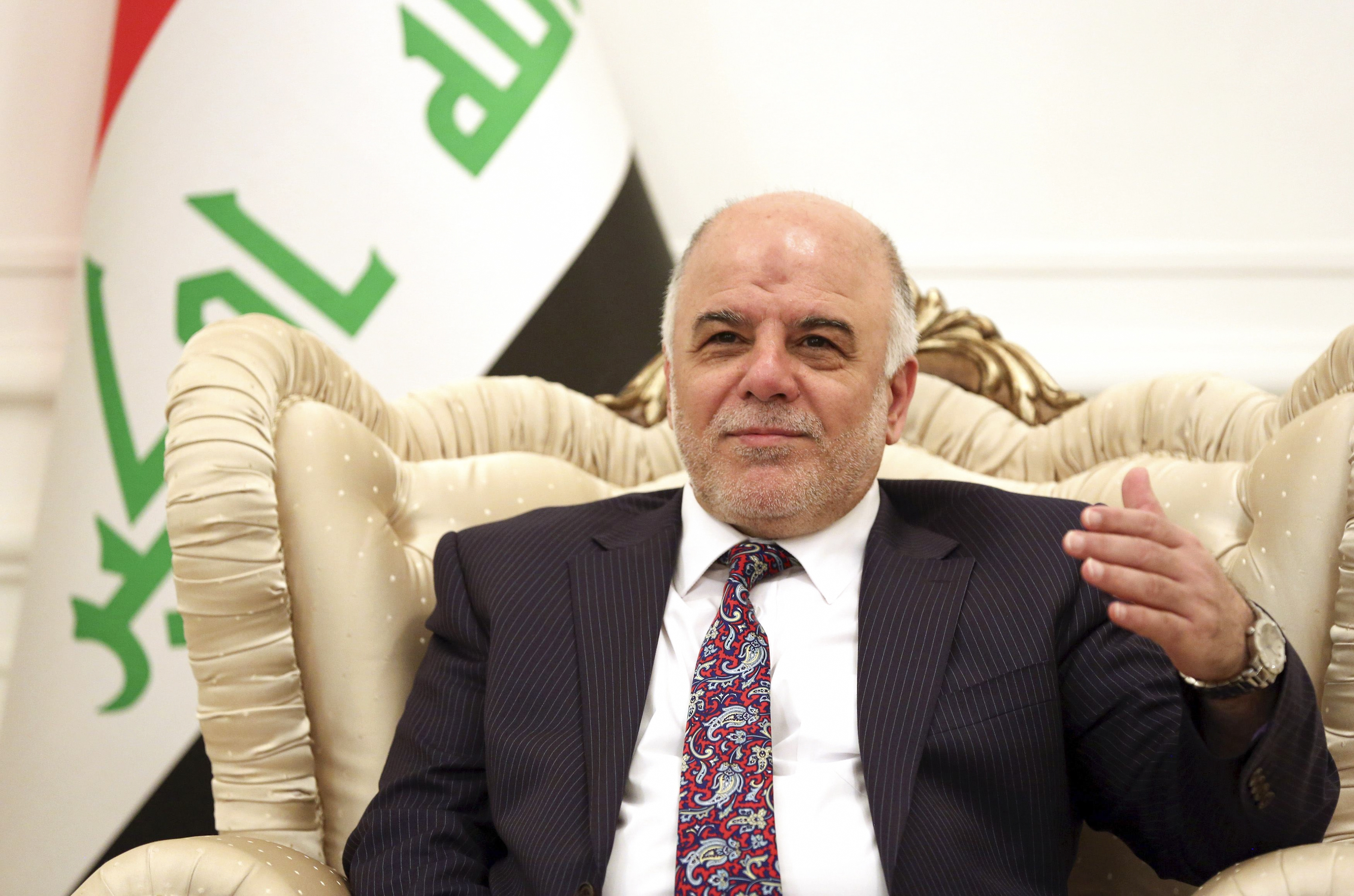 "New Iraqi Prime Minister Haider al-Abadi, shown here in August, says his country has been paying salaries to at least 50,000 soldiers who do not exist. He expects more ""ghost soldiers"" to be uncovered as the investigation proceeds."