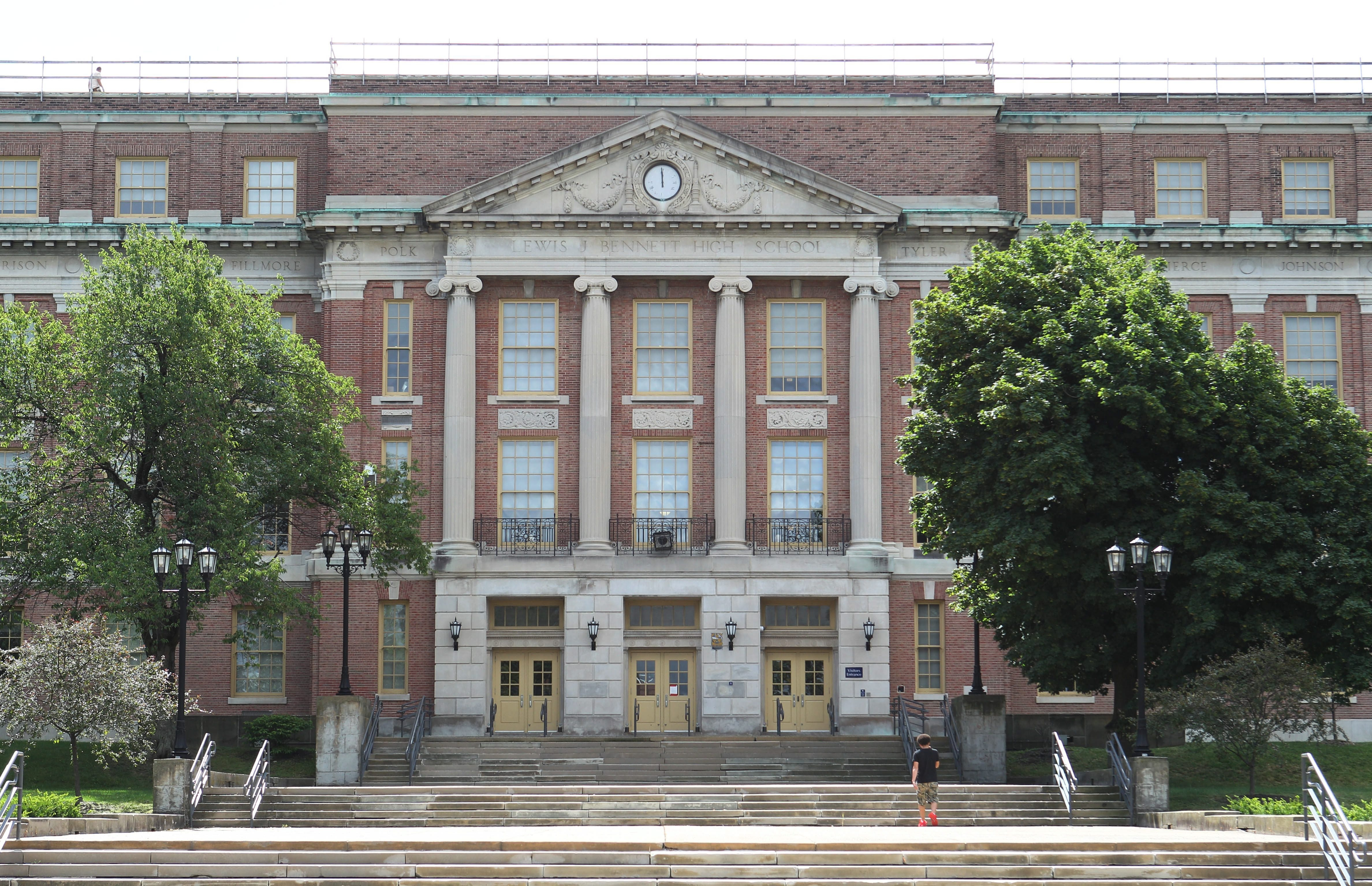 Buffalo city school Bennett High School, Wednesday, July 24, 2013.  (Sharon Cantillon/Buffalo News)