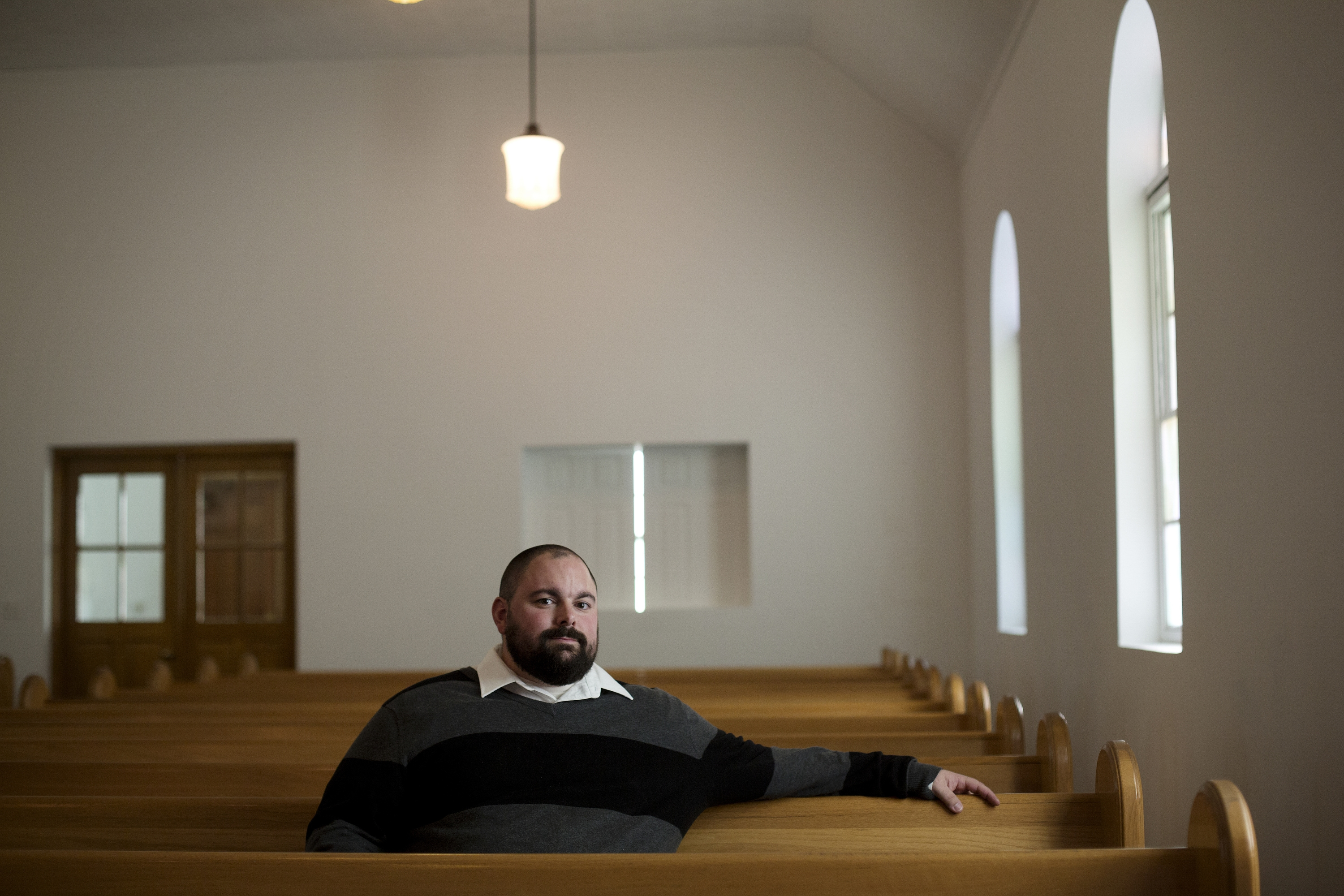 Matt Brogli, a Southern Baptist pastor at Eagle Springs Baptist Church in Eagle Springs, N.C., has become the unofficial mental health counselor for the community.