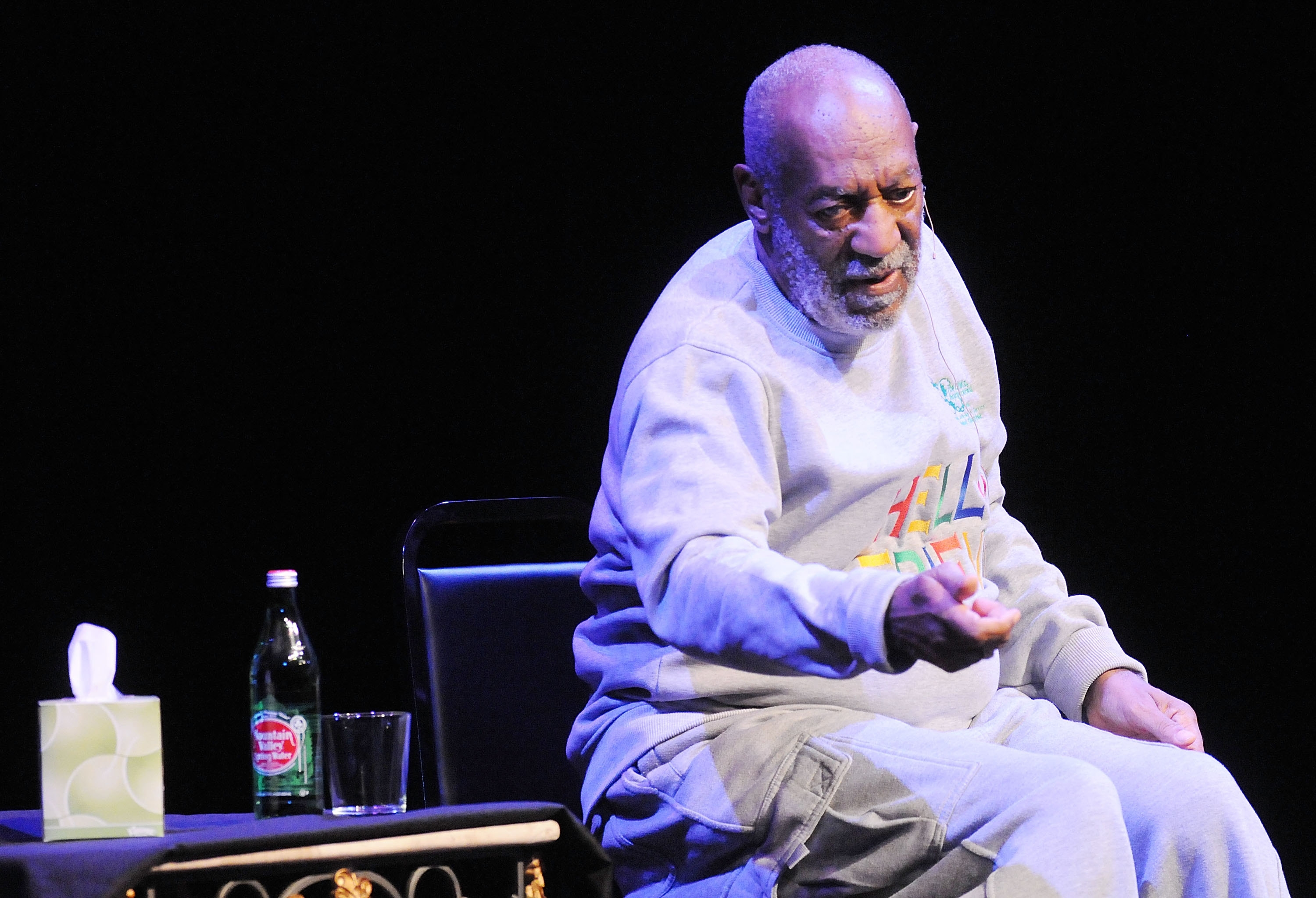 Bill Cosby performs last week in Melbourne, Fla. Allegations of rape against the comedian have rapidly changed the news media's approach to sexual violence stories.
