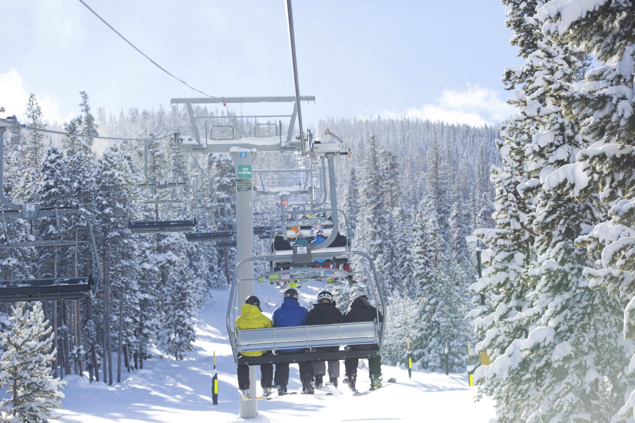 A recent report commissioned by the National Ski Areas Association shows that the percentage of people with household incomes over $100,000 who participate in snow sports has risen over the past eight seasons from 45 percent of ski area visitors to 56 percent of visitors.