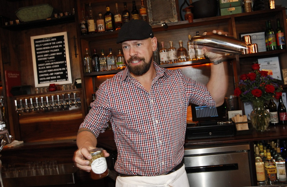 Tim Stevens, who moved back to Buffalo to open Ballyhoo, inspired Aaron Ingrao's cocktail passion. (Sharon Cantillon/Buffalo News file photo)