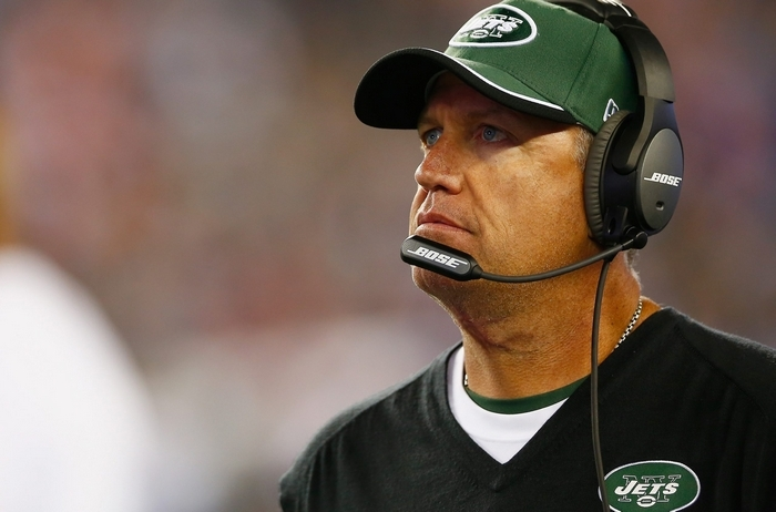 Jets coach Rex Ryan is among the best in the game at getting a defense ready to play. (Jared Wickerham/Getty Images)