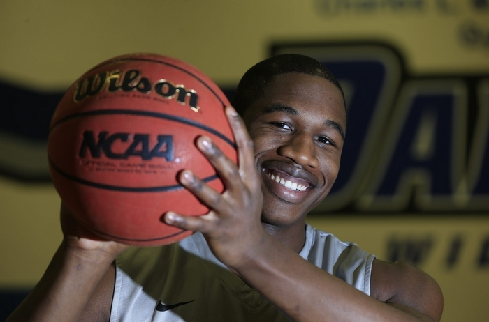Gerald Beverly Daemen basketball player on.Monday, Nov. 24, 2014..(Harry Scull Jr./Buffalo News)