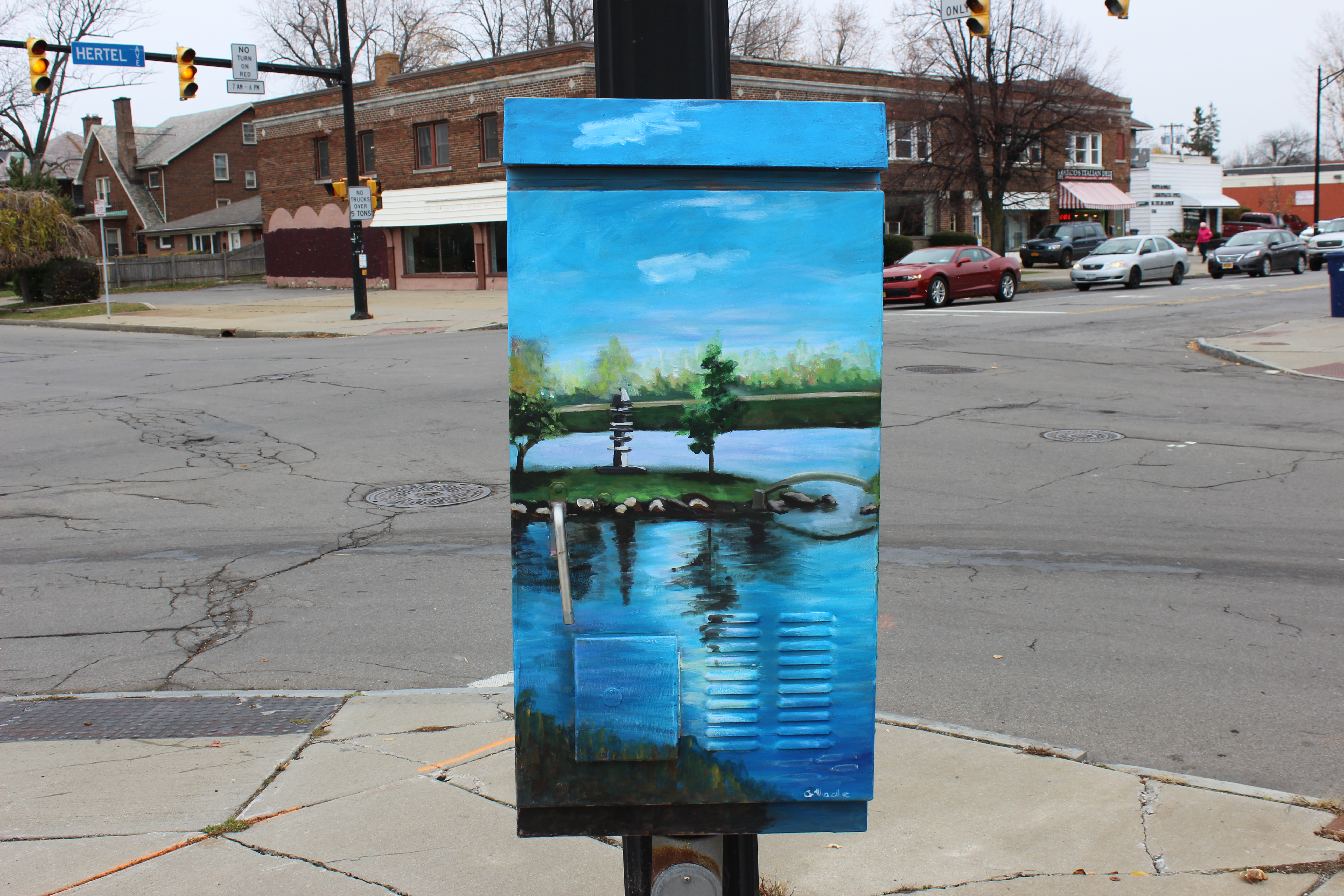 Community Canvases unveils new public art project on Hertel Avenue