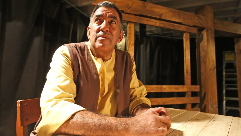 "Victor Morales is Giles Corey in the American Repertory Theater's production of  ""The Crucible."" (Robert Kirkham/Buffalo News)"