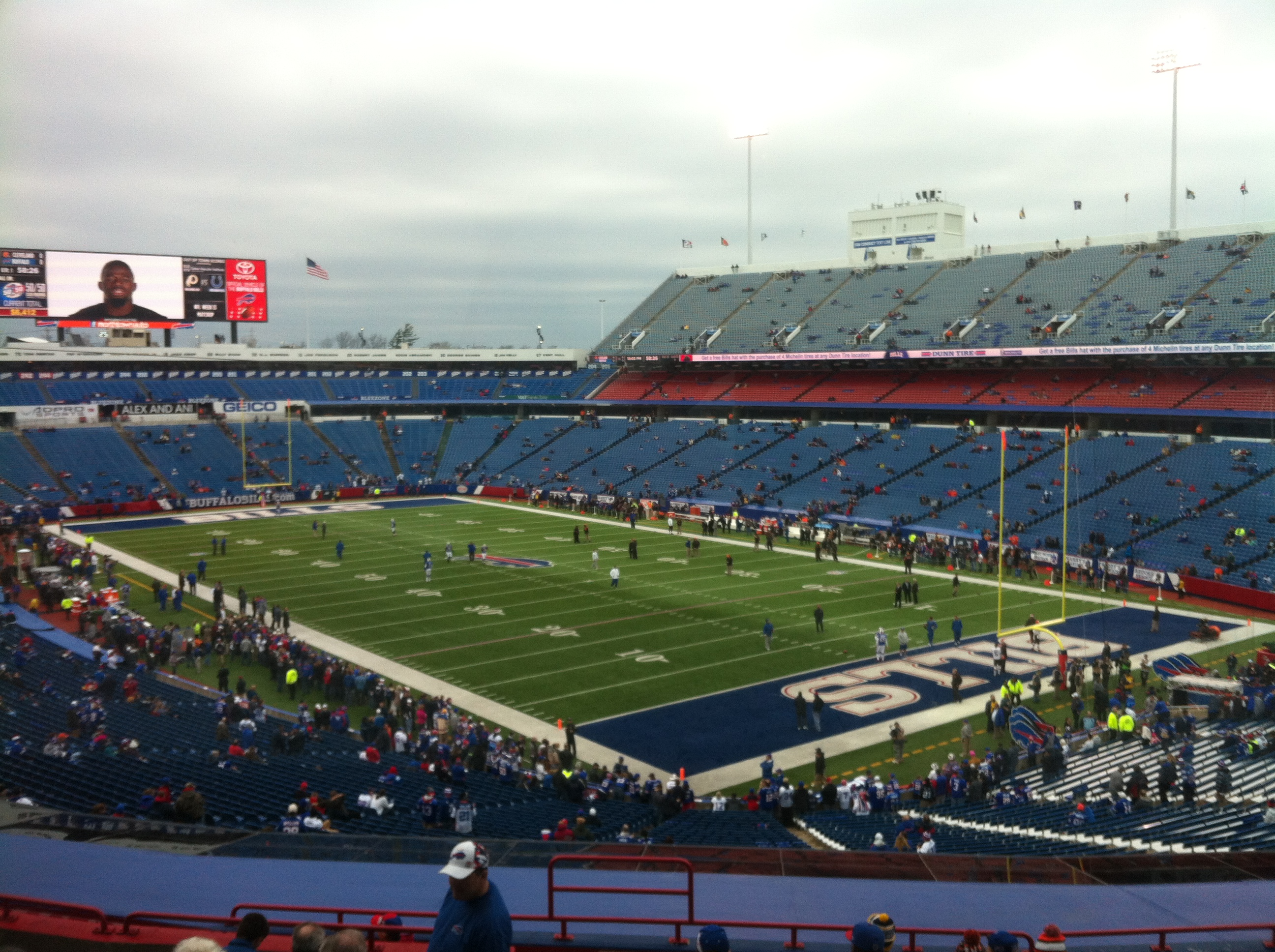 A pregame look at The Ralph today. (Keith McShea/Buffalo News)