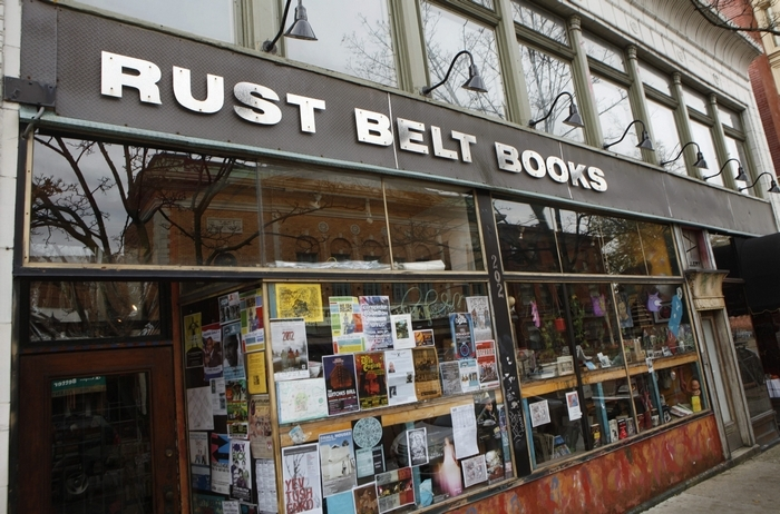 Rust Belt Books on Allen Street will close Dec. 30 and reopen in January at 415 Grant St. (Derek Gee/News file photo)