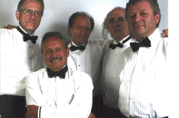 Joe D'Angelo, center, and his band will perform Italian classics in the Sportsmen's Tavern Dec. 28.