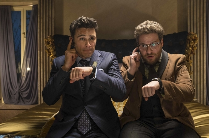 James Franco, left, and Seth Rogen star in 'The Interview.'