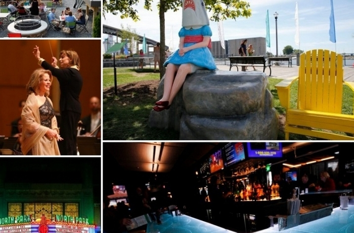 SharkGirl, a concert by Renee Fleming with the BPO, an alcohol-fueled renaissance,  the renovation of the North Park Theater and the opening of new downtown restaurants were among the year's top stories on the cultural scene.